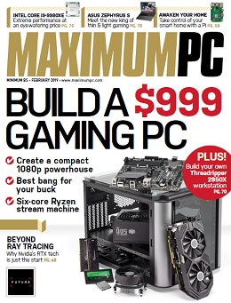 Maximum PC February 2019